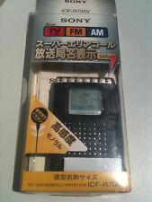 Sony ICF-R700V Radio TV/AM/FM Receiver PLL NEW !NEU! in der box bag beste Radio