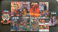 10 JLA JSA Trade Lot TPB Batman SUPERMAN Wonder Woman JUSTICE LEAGUE Society