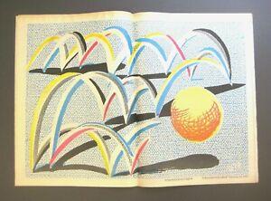 David Hockney A Bounce For Bradford Ltd Edition Print Signed