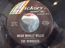 THE NEWBEATS RUN BABY RUN / MEAN WOOLY WILLIE ON HICKORY RECORDS