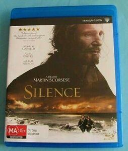 SILENCE BLU-RAY Liam Neeson (Martin Scorsese)