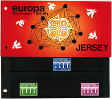 Jersey 1984 Europa 25th Anniv CEPT MNH Presentation Pack #C40509