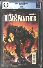 Rise of the Black Panther #6 CGC 9.8 Arthur Adams Variant Cover!