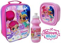 Official Shimmer & Shine 3pc Lunch Bag Sport Bottle&Sandwich Box Back  To School