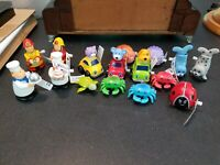 Awesome! mixed lot of 12 wind up or pull back and go toys.  Rich Frog, Vermont.