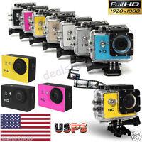US SJ5000 Waterproof Sports DV Action HD 1080P Camera Pro Camcorder Recorder Cam