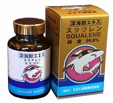 Squalene Softgel - Deep Sea Shark Liver Oil from Japan - Anti-Aging 120 Softgels