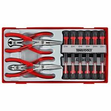 Teng Tools NEW Mini Pliers 12 Micro Screwdrivers  Mini Tool Set