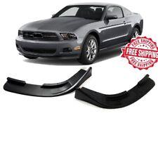 For 2010 2011 2012 Ford Mustang V6 Front Bumper Lips 2pcs Body Kit Spoiler
