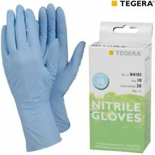 ~ 20 Nitrile Gloves Super Strong, Health care, Catering Handy Pack UK ~
