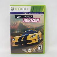 Forza Horizon (Microsoft Xbox 360, 2014) Complete Tested Working