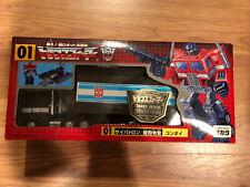 Transformers Optimus Prime G1 Black Convoy Jafcon Exclusive 2000 Takara