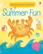 Watt, Fiona-Usborne First Activities Summer Fun  BOOK NEW