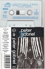 PETER GABRIEL cassette K7 tape ON THE AIR france french 50326