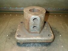 "Warner & Swasey W&S M-527 Short Flange Turret Lathe Tool Holder: 2"" Bore, Used"