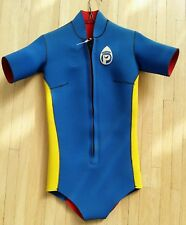 "Retro Vintage NOS Parkway Neoprene Womens Wetsuit- Reversible ""Shorty"" Size SM"