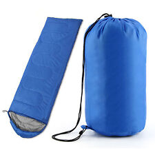3-4 SEASON SLEEPING BAG SINGLE SUIT CASE CAMPING HIKING OUTDOOR ENVELOPE ZIP UP
