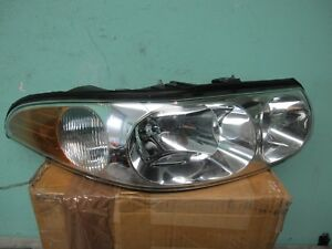 HEADLAMP ASSEMBLY RIGHT FITS 2000-2005 BUICK LESABRE 25769598