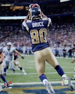 Isaac Bruce St. Louis Rams NFL Licensed Unsigned Glossy 8x10 Photo A