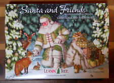 20 Leanin Tree CHRISTMAS Cards, SANTA & FRIENDS, Woodland Animals, Woods, Snow