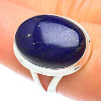 Lapis Lazuli 925 Sterling Silver Ring Size 8.5 Ana Co Jewelry R53161