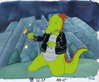 DOUG FUNNIE ORIGINAL 1990'S HAND PAINTED PRODUCTION CEL PATTY & ROGER