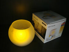 Wholesale Pack of 4 LED Candle with Frosted Holder (Can be BLOWN OUT!) TRY IT.