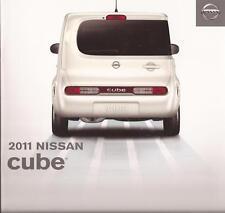 2011 11 Nissan Cube original sales brochure Mint