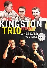 Kingston Trio Story Wherever We May Go DVD 2006 Shout NEW/SEALED FAST USA SHIP