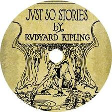 Just So Stories, Rudyard Kipling Natural Phenomena Poem Audiobook on 1 MP3 CD