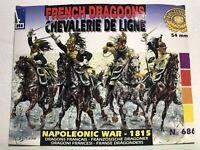 FRENCH DRAGOONS CHEVALERIE DE LIGNE  NAPOLEONIC WAR 6862 ITALERI, Read Descripti