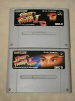 Street Fighter II Turbo SNES SFC Nintendo Super Famicom game 2 games Japan