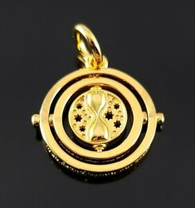 Pandora 2021 Harry Potter Spinning Time Turner Shine Gold Charm Pendant