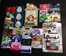 STARBUCKS / MCDONALDS / WALMART ...... GIFT CARD -- LOT OF 215  PCS. -- NEW