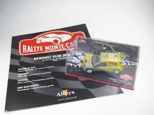 1/43 Diecast RENAULT CLIO S Rallye Monte Carlo BERNARDI 2004 ALTAYA + Booklet