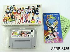 Complete Sailor Moon Another Story Super Famicom Japanese Import SFC US Seller B