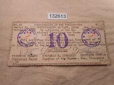 Philippines Emergency Currency Municipality Taft Samar 10 Centavos - # 132613