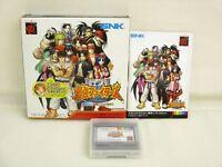 Chojo Kessen SAIKYO FIGHTERS Item REF/1980 Neo Geo Pocket Color SNK Neogeo JP np
