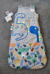 BNWT Sleeping Bag George  6-12 Months 2.5 Tog Winter Weight dinosaur