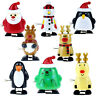 Creative Funny Jumping Clockwork Christmas Toy Children Wind Up Toys Gifts TRFR