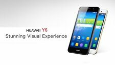 HUAWEI Y6 Nuovo di Zecca nero-Dual SIM 8GB LTE (Sbloccato) Smartphone 3G UK STOCK