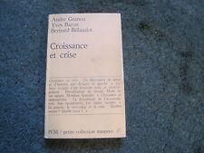 GRANOU/BARON/BILLAUDOT: Croissance et crise Maspero