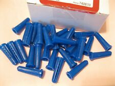 New listing 50 Brand New Hilti Tapered Plastic Anchors~Fasteners~Blue~#1 0-12X1 Inch Long