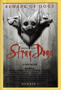 🔥STRAY DOGS #1 5th Print Dracula Horror Movie Homage Variant Image Comics 🔥
