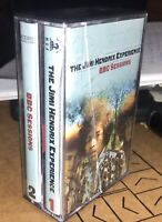 SUPER RARE 2 CASSETTE BOX SET THE JIMI HENDRIX EXPERIENCE BBC Sessions MCA LOOK!