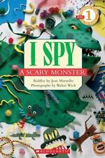 Scholastic Reader Level 1: I Spy A Scary Monster by Jean Marzollo, Good Book