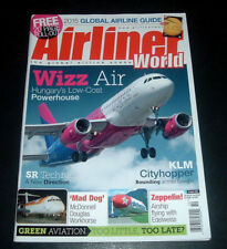 AIRLINER WORLD UK MAGAZINE ~ OCT. 2015 ~ HUNGARY'S WIZZ AIR ~ EDELWEISS ZEPPELIN