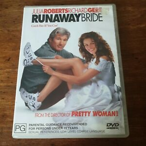 Runaway Bride Julia Roberts DVD R4 Like New! FREE POST