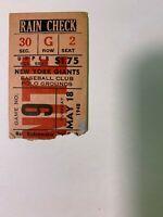 1948 (5/18) NY Giants vs Cincinnati Reds Night Game Baseball Ticket Stub GOOD+