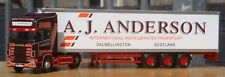 "CORGI CC12934, SCANIA TOPLINE FRIGO remorque - ""un J Anderson Transport"", 1:50"